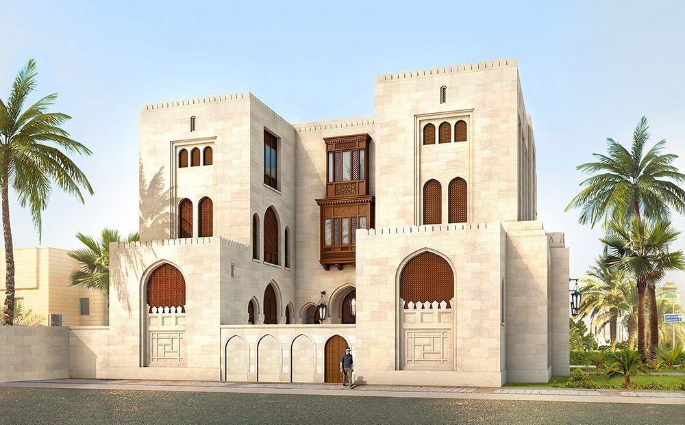 Residence in kuwait city stanhope gate architecture for Local residential architects near me