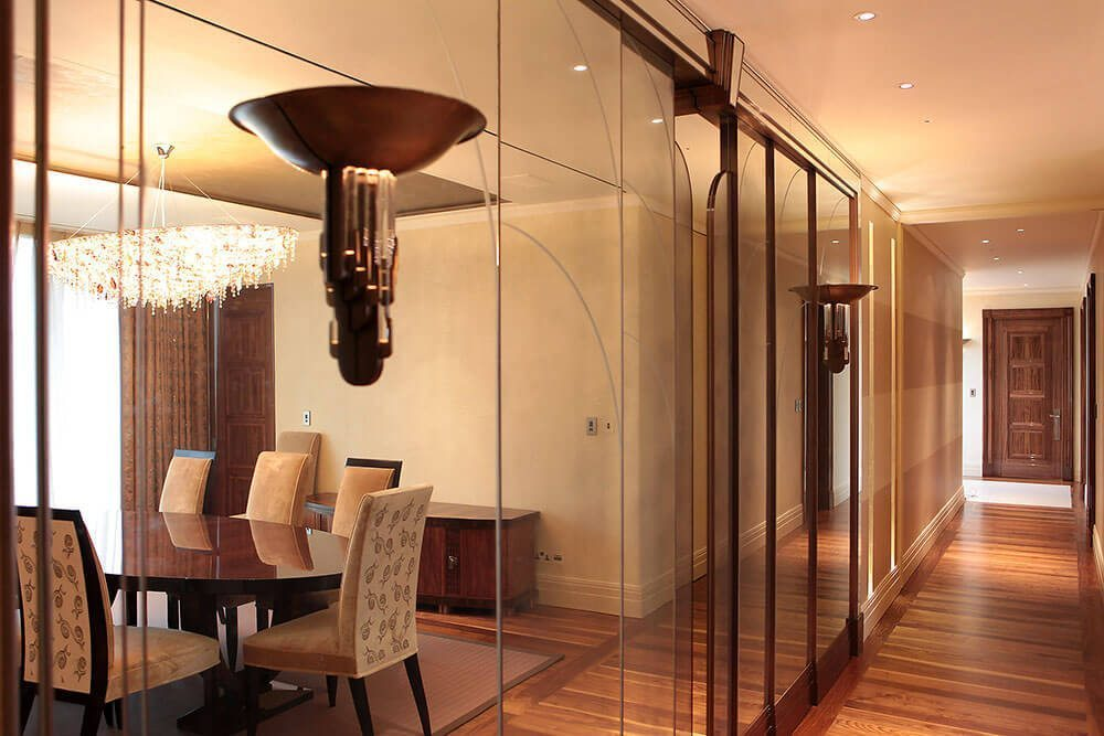 London interiors project residence interior design london - Penthouse In Knightsbridge Stanhope Gate Architecture